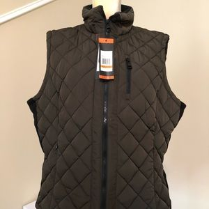 7d592c31b4d Andrew Marc Jackets   Coats - NWT! Andrew Marc Ladies Quilted Vest XL Olive.